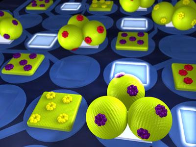 3d-biochip nanoarray